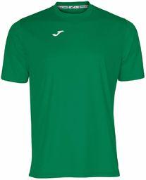 Joma męska koszulka 100052.450 Joma 100052.450 z krótkim rękawem - zielony/zielony, 2X-mały Green/Green XXS