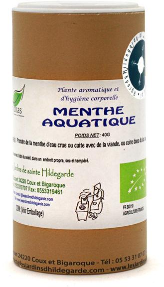Przyprawy i zioła - Mięta nadwodna w proszku 40g Bio*, - 40049P