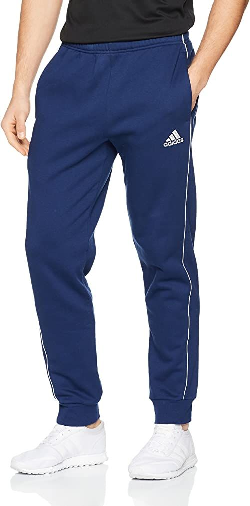 Adidas Męskie spodnie treningowe Core 18 niebieski ciemnoniebieski/biały S