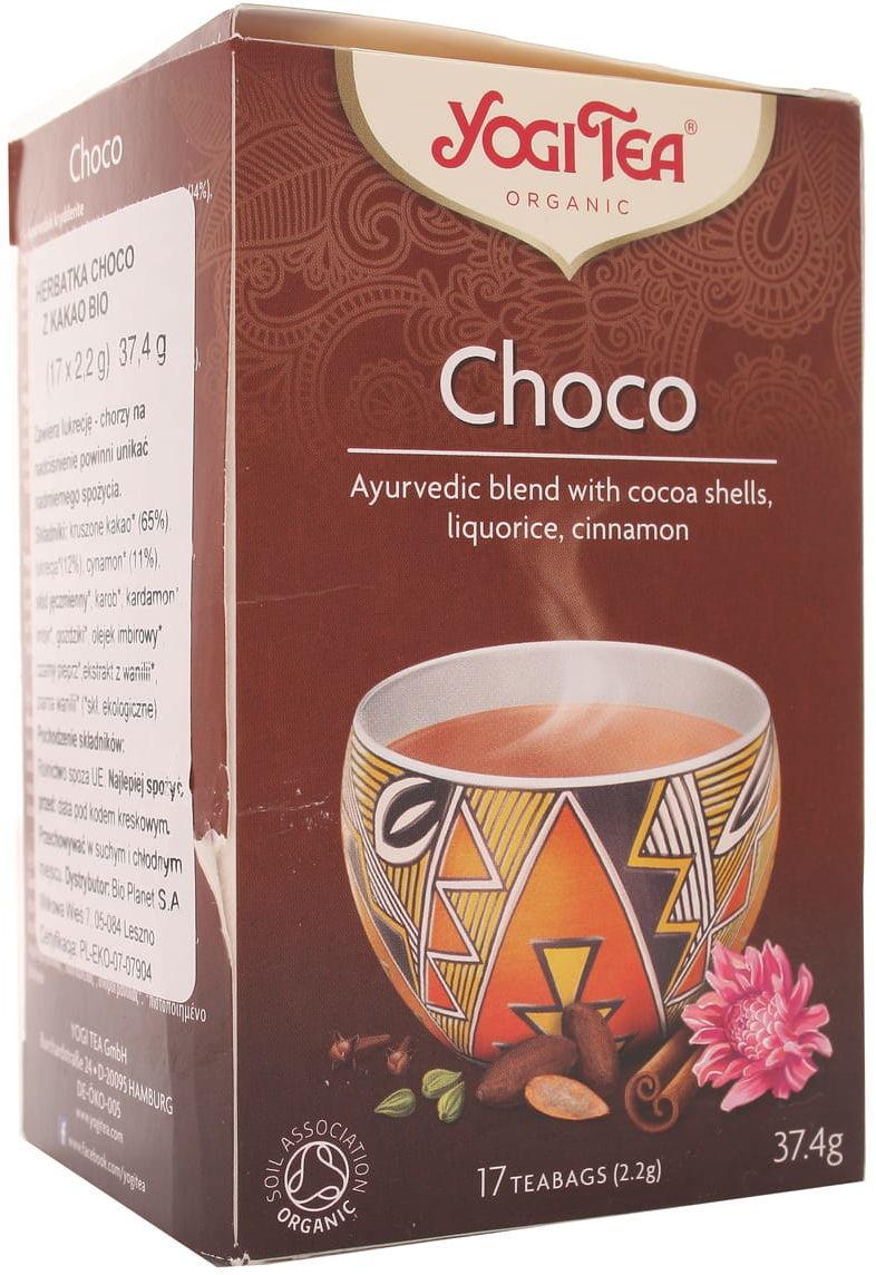 Herbatka czekoladowa BIO - Yogi Tea - 17 torebek