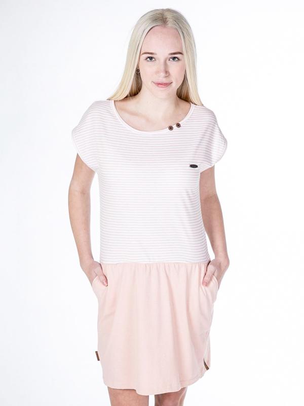 Alife and Kickin SHANNA candy stripes krótkie sukienki - M