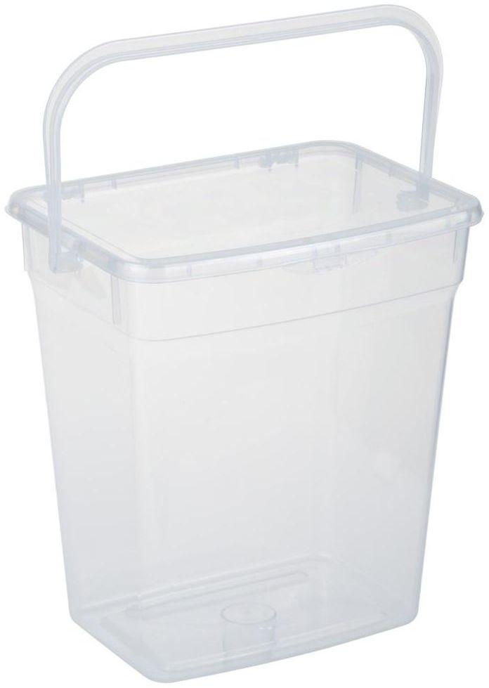 Pojemnik NA PROSZEK 6 L 23.5 x 17.5 x 25.3 cm PLAST TEAM