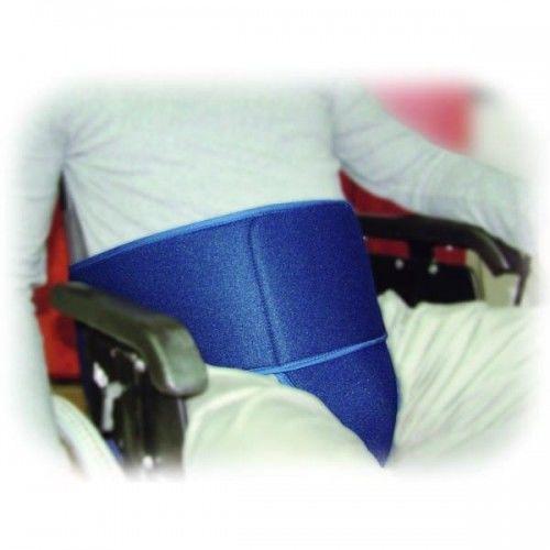 Stabilizacja pacjenta w wózku inwalidzkim SECUBACK III