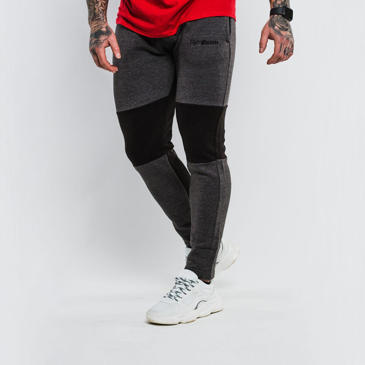GymBeam Spodnie dresowe Flexin Grey
