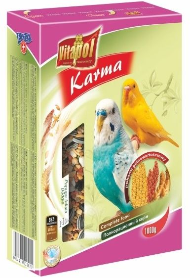 VITAPOL - Pokarm dla papugi falistej 1kg