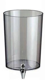 Pojemnik na sok do dyspensera 4L z kranikiem