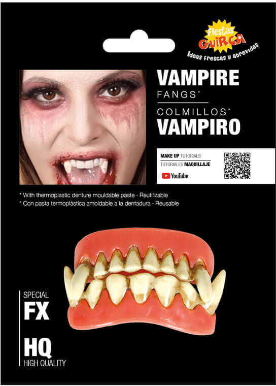 Szczęka wampira na Halloween