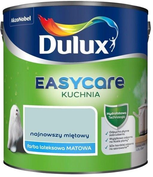 Farba Dulux EasyCare Kuchnia najnowszy miętowy 2,5 l