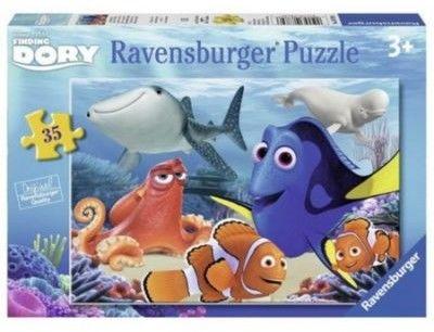 Puzzle Ravensburger 35 - Gdzie jest Dory, Finding Dory