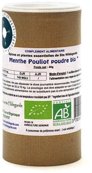 Przyprawy i zioła - Mięta Polej liście w proszku 40g*, - 40048P