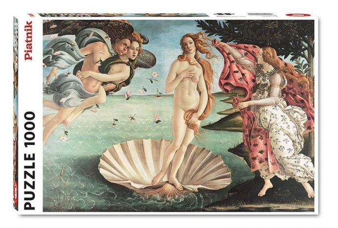 Puzzle Piatnik Botticelli, Narodziny Venus