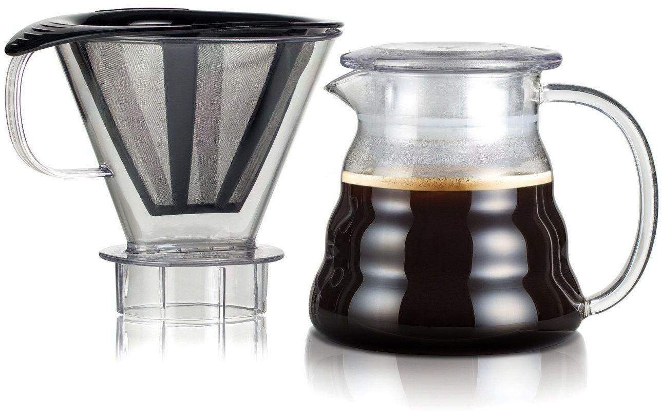 Bodum Zaparzacz do Kawy, Przeźroczysty, 15.1 x 12.6 x 22.7 cm