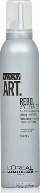 L Oréal Professionnel - TECNI ART. REBEL PUSH-UP Texturizing Powder In Mousse - Teksturyzujący puder w piance do włosów - 250 ml
