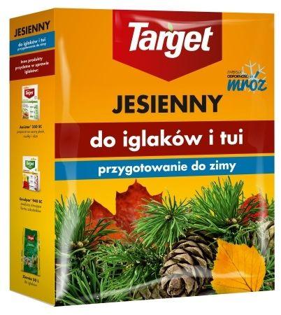 Nawóz do iglaków i tui  jesienny  1 kg target