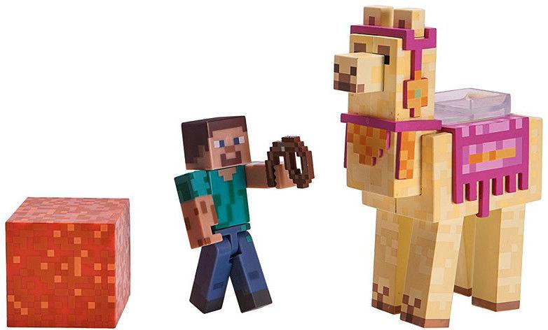 Minecraft - Figurki Steve z lamą 16602
