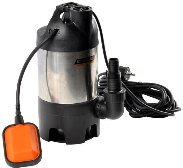 Pompa do wody brudnej z pływakiem 600W 8000l/h