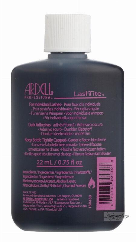 ARDELL - LashTite Individual EYELASH ADHESIVE - Klej do rzęs - 22 ml-DARK