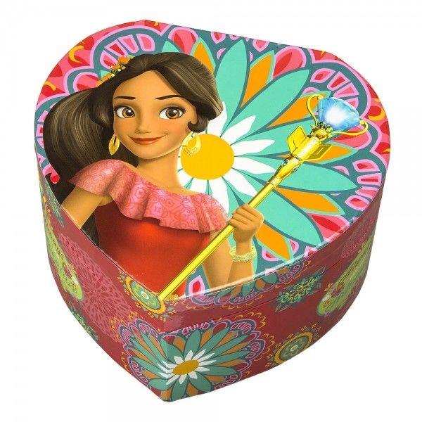 Szkatułka serce pozytywka z bajki Elena z Avaloru