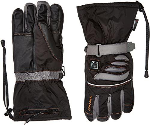 Alpenheat Fire-Glove ogrzewane rękawice narciarskie, snowboardowe lub motocyklowe, czarne, XS, AG2