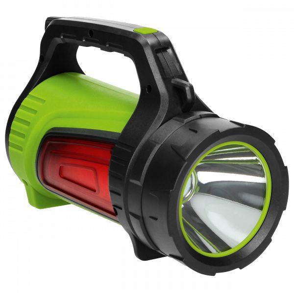 Latarka akumulatorowa LED 10W, 1000lm, 4000mAh, powerbank, wskaźnik baterii