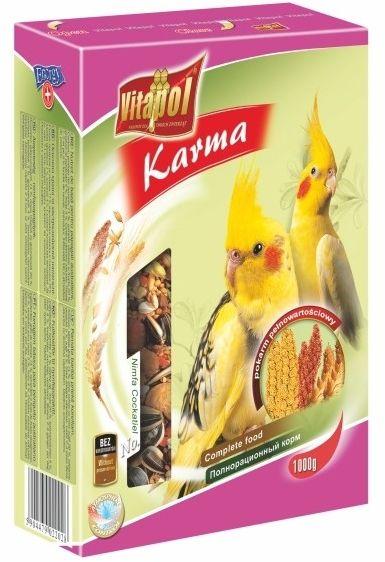 VITAPOL - Pokarm dla papugi nimfy 1kg