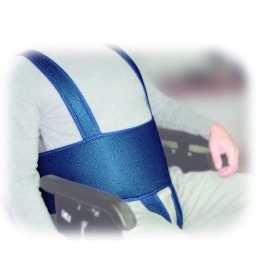 Stabilizacja pacjenta w wózku inwalidzkim SECUBACK IV