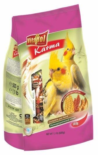 VITAPOL - Pokarm dla papugi nimfy 500g