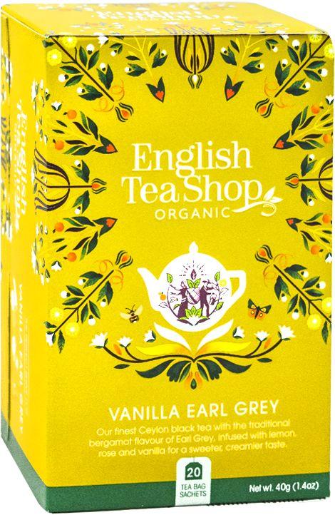 ETS Vanilla Earl Grey 20 saszetek
