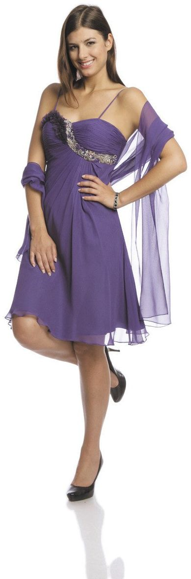 FSU723 Suknie wizytowe Sukienka PURPUROWY