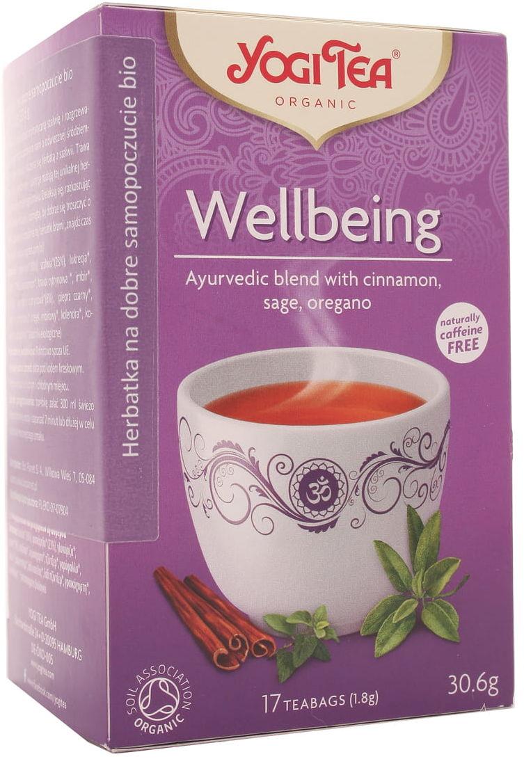 Herbatka na dobre samopoczucie BIO - Yogi Tea - 17t