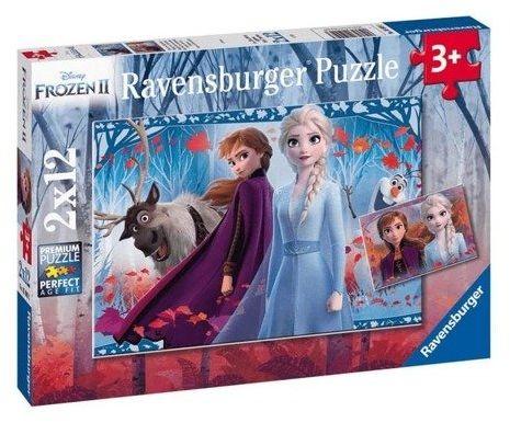 Puzzle 2x12 Frozen 2