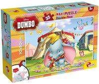 Puzzle dwustronne Supermaxi 35 Dumbo - Lisciani