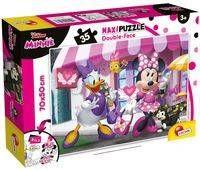 Puzzle dwustronne Supermaxi 35 Myszka Minnie - Lisciani