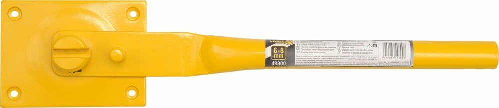 Giętarka do drutu zbrojeniowego 6-8mm Vorel 49800 - ZYSKAJ RABAT 30 ZŁ