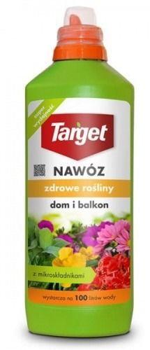 Płynny nawóz do roślin domowych i balkonowych  zdrowe rośliny  1 l target