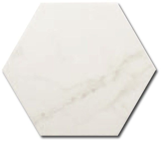 Carrara Hexagon Mat 17,5x20