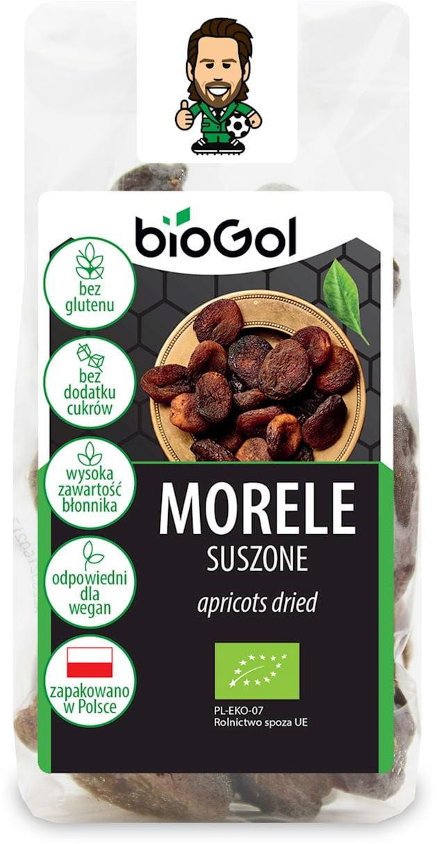 Morele suszone bezglutenowe bio 150 g - biogol