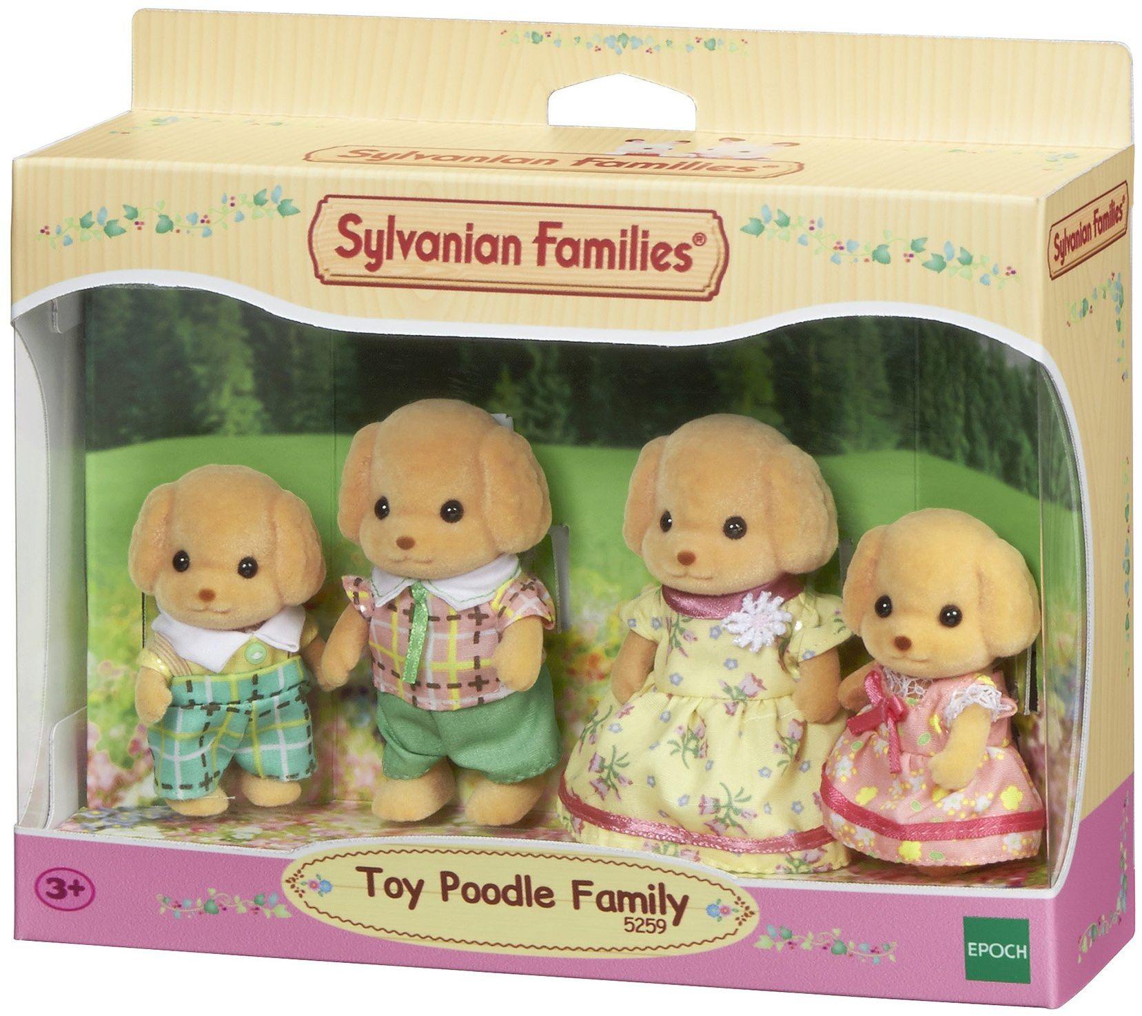 Sylvanian Families - Rodzina pudli zabawkowych