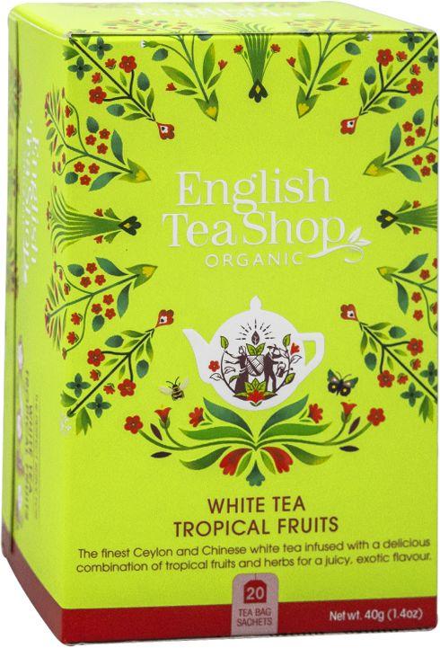 ETS White Tea Tropical Fruits 20 saszetek