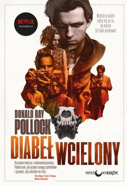 Diabeł wcielony (okładka filmowa) - Donald Ray Pollock