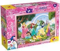 Puzzle dwustronne Plus 24 Princess - Lisciani