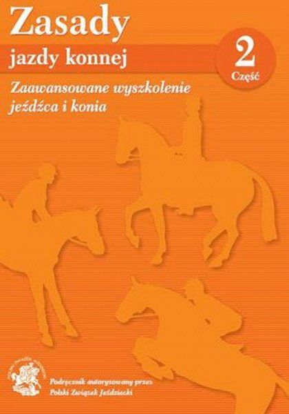 Książka ZASADY JAZDY KONNEJ - CZĘŚĆ 2