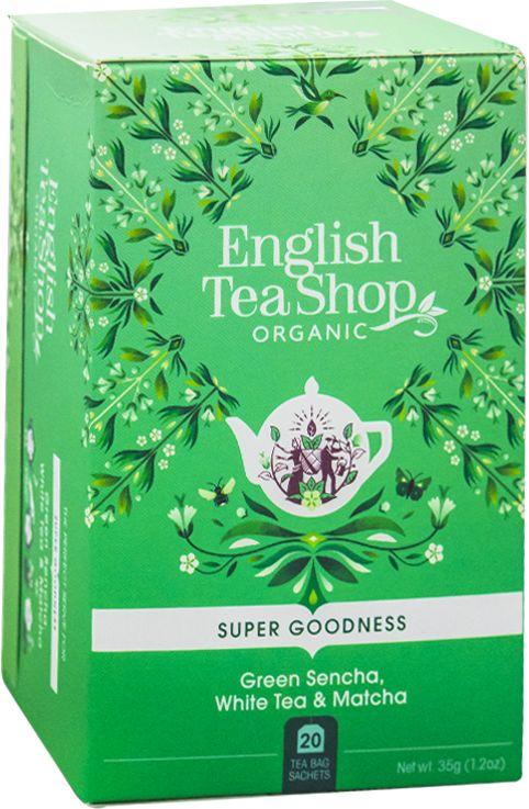 ETS Green Sencha, White Tea, Matcha 20 saszetek