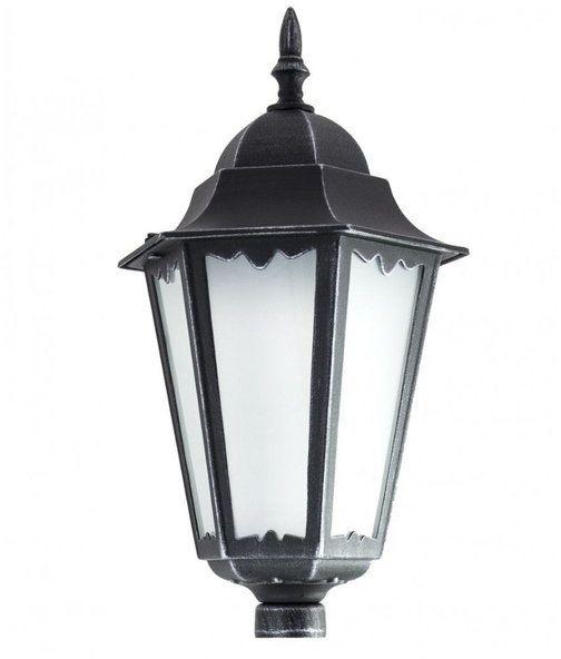 Klosz głowica lamp fi 35mm Retro Classic II K 1018 H srebrny