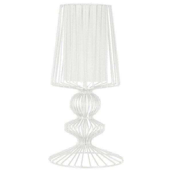 Druciana lampa stołowa Nowodvorski AVEIRO White 5410
