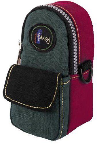 Hama Fancy M torba na aparat czerwony/oliwkowy