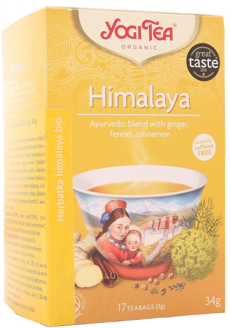 Herbatka Himalaya BIO - Yogi Tea - 17 torebek