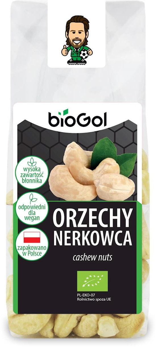 Orzechy nerkowca bio 100 g - biogol