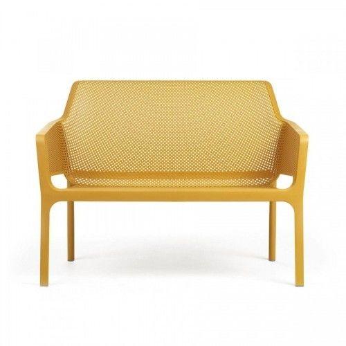 Nardi Sofa Net Bench żółty