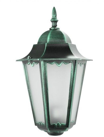 Klosz głowica lamp fi 35mm Retro Classic II K 1018 H zielony